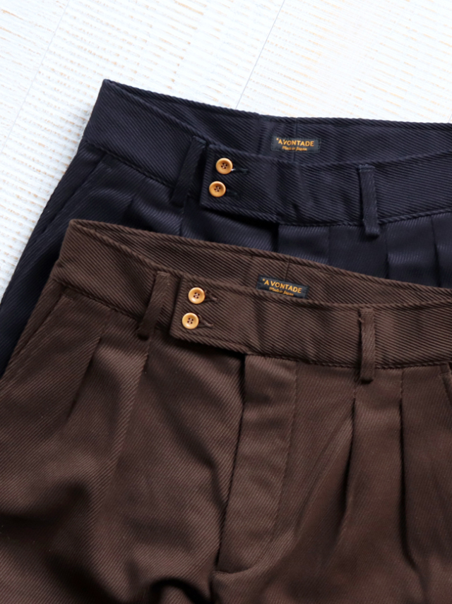 A Vontade Kersey French Trousers