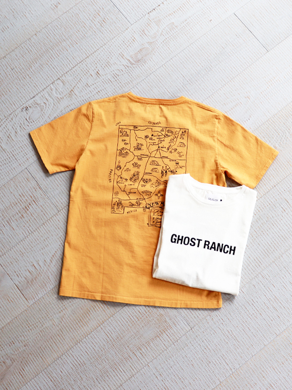 "CAL O LINE ""GHOST RANCH"" MAP T-SHIRT"