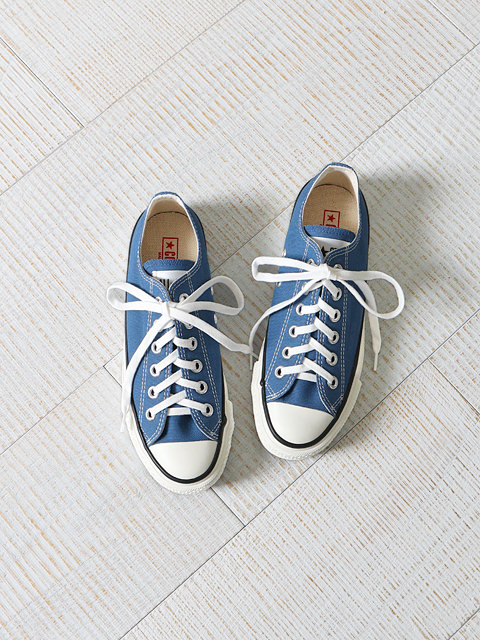 CONVERSE CANVAS ALL STAR J OX LIGHTNAVY