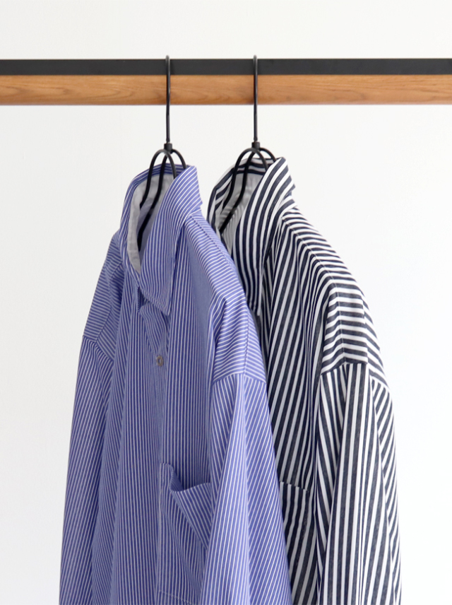 CURLY FINSBURY RC STRIPE SHIRTS