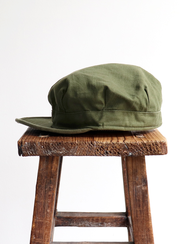 DEADSTOCK 1950's US ARMY Utility Cap - Back satin