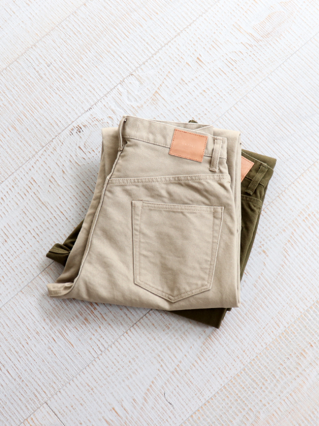 HATSKI Wide Tapered Duck Pants
