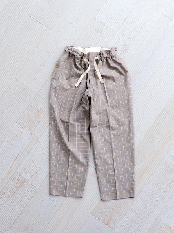 HAVERSACK ATTIRE Check Easy Wide Pants