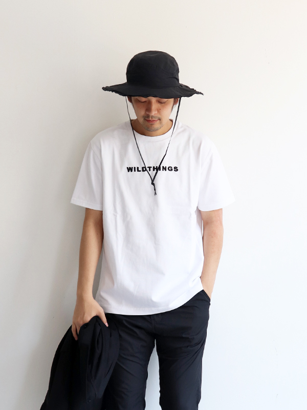 WILD THINGS S/S EMBROIDERY LOGO