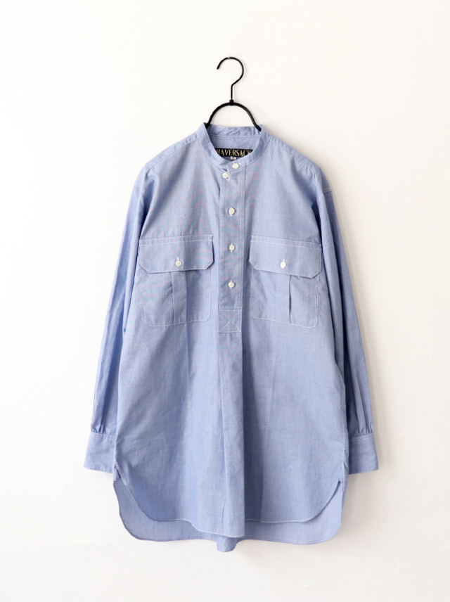 HAVERSACK Hairline Stripe P/O Long Shirt