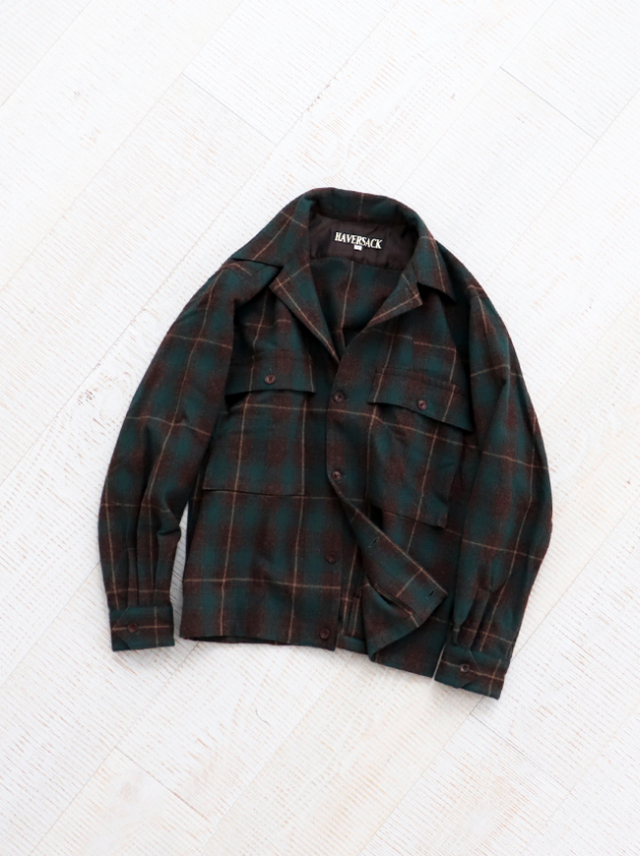 HAVERSACK Etamine Check Shirt Jacket