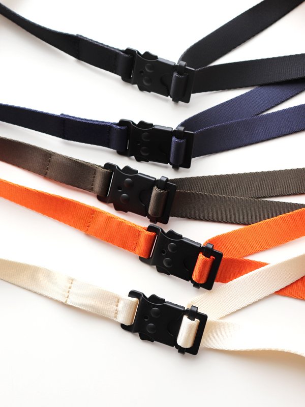 hobo NYLON TAPE BELT WITH IRON BUCKLE