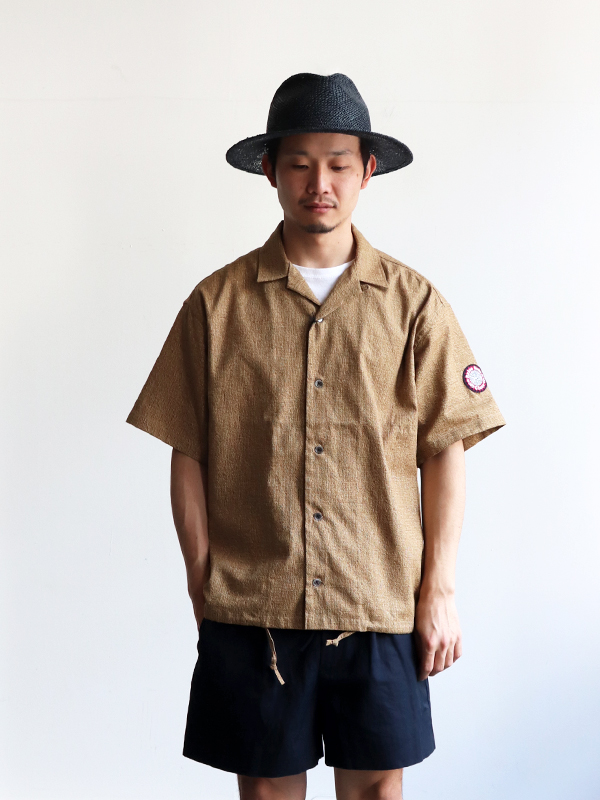 "HURRAY HURRAY ""BEER COLLECTION"" Open S/S Shirt"