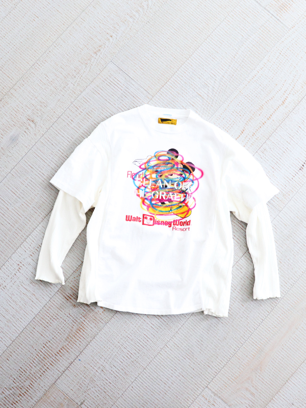 HURRAY HURRAY composition Remake Clean Tee