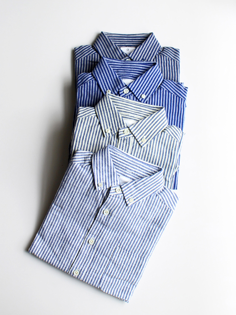 maillot Sunset Stripe B.D. Shirts (ストライプB.D.) MAS-003S