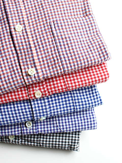 maillot sunset gingham B.D. shirts (ギンガムB.D) MAS-003