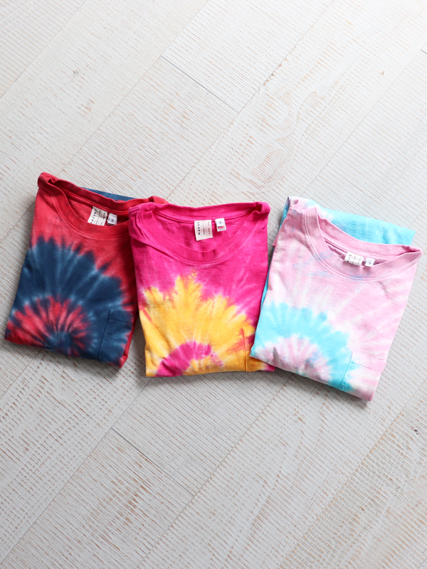 【20%OFF】MAKERS AMERICAN FIT TIE DYE T-SHIRTS