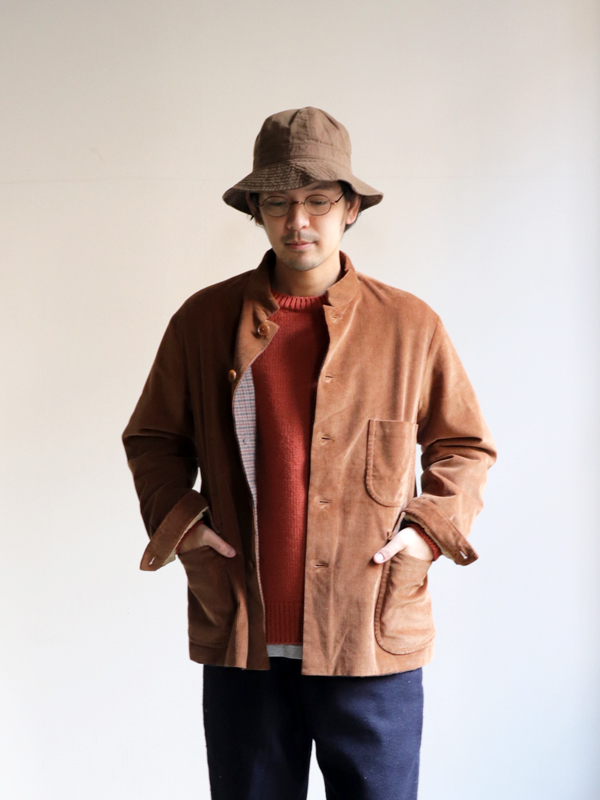 A Vontade Atelier Stand Collar Jacket -9 Wale Supema Corduroy-