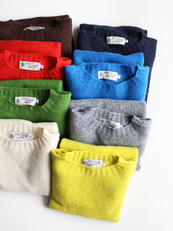 Nor'Easterly L/S Crew Neck -ナイモノねだり