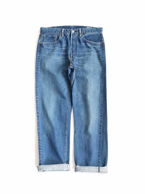 orSlow Standard 5P Denim 105 -2YEAR WASH