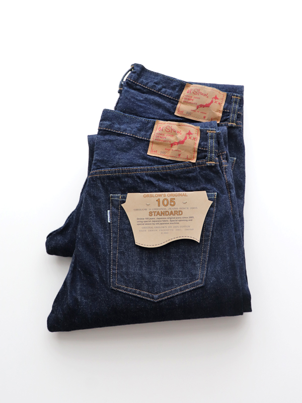 orSlow Standard 5P Denim 105 - ONE WASH