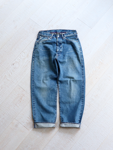 Ordinary fits NEW FARMERS 5P DENIM -USED