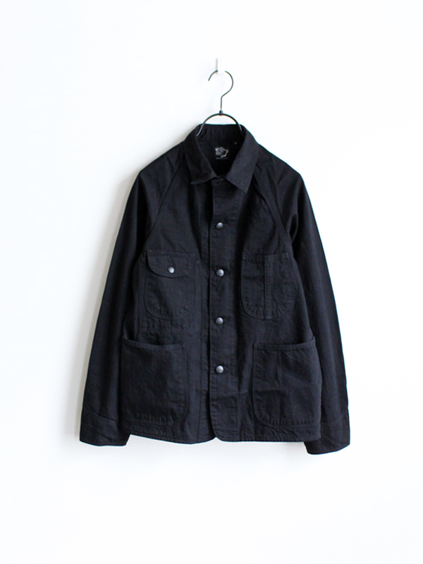 orSlow 50's Cover All -BLACK DENIM