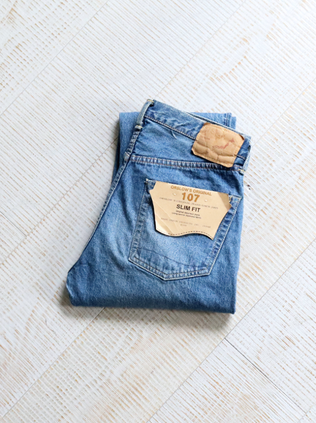 orSlow Ivy Fit Denim 107 -2 Year Wash