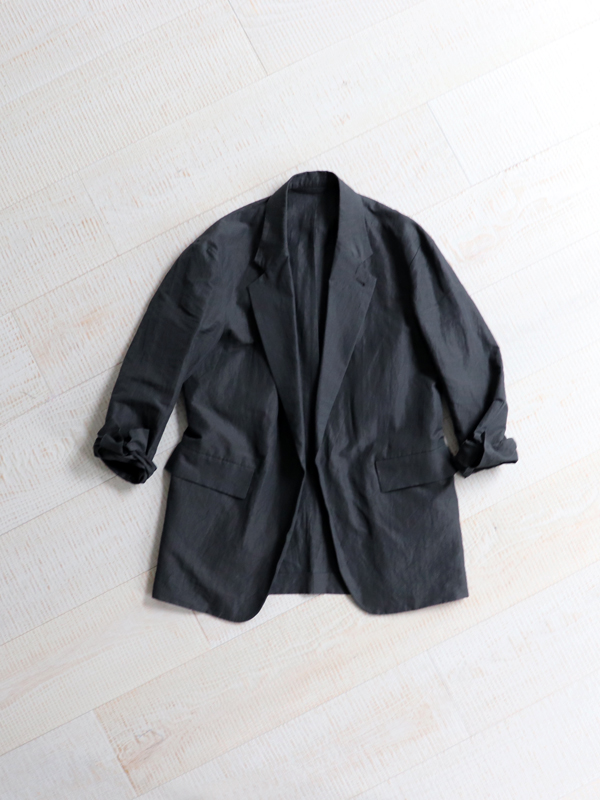Phlannel  Cotton Ramie Weather Cloth Over Jacket