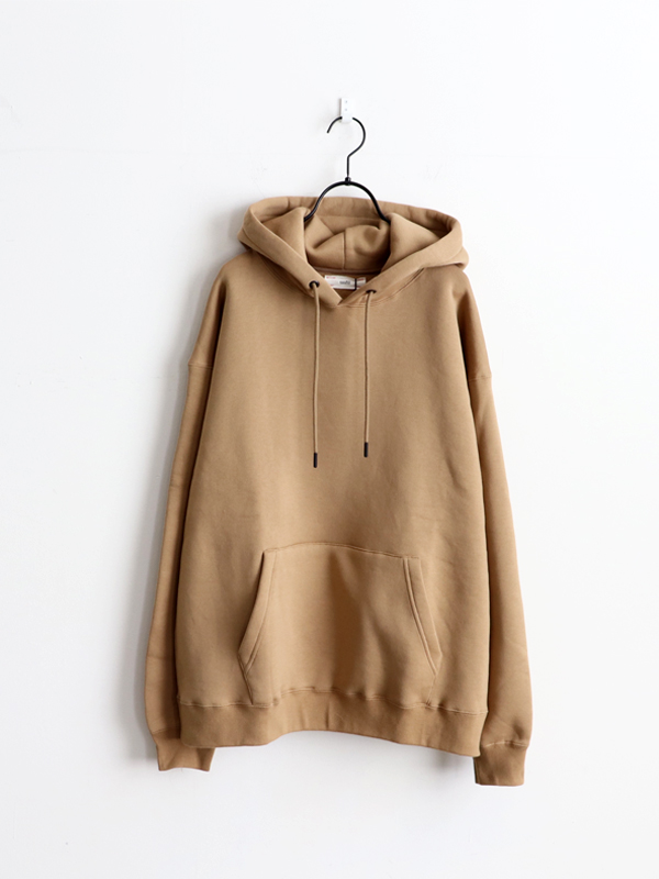 unfil cotton-terry hoodie