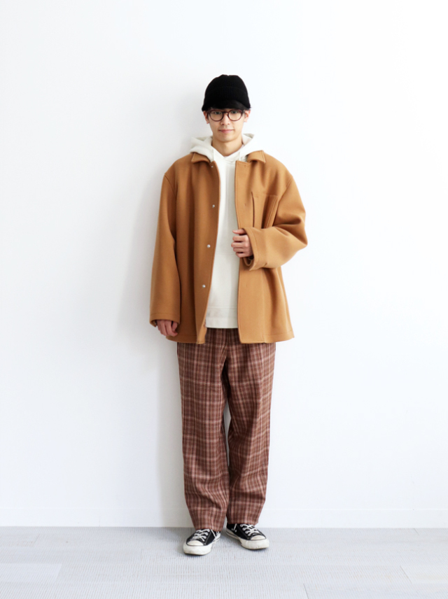WELLDER Boxy Car Coat