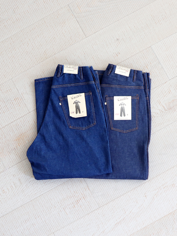 WESTOVERALLS 5POCKET DENIM TROUSERS. 850B