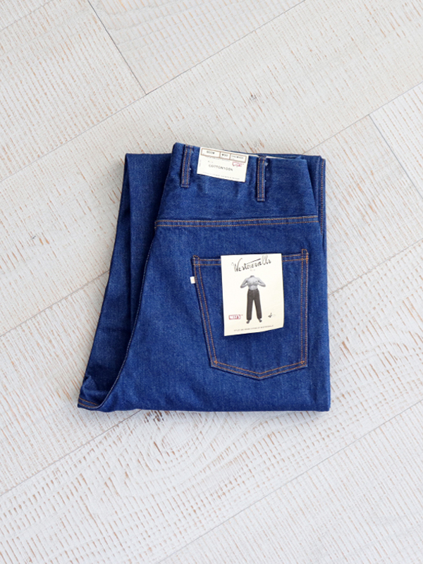 WESTOVERALLS 5POCKET DENIM TROUSERS. 803W-ONEWASH