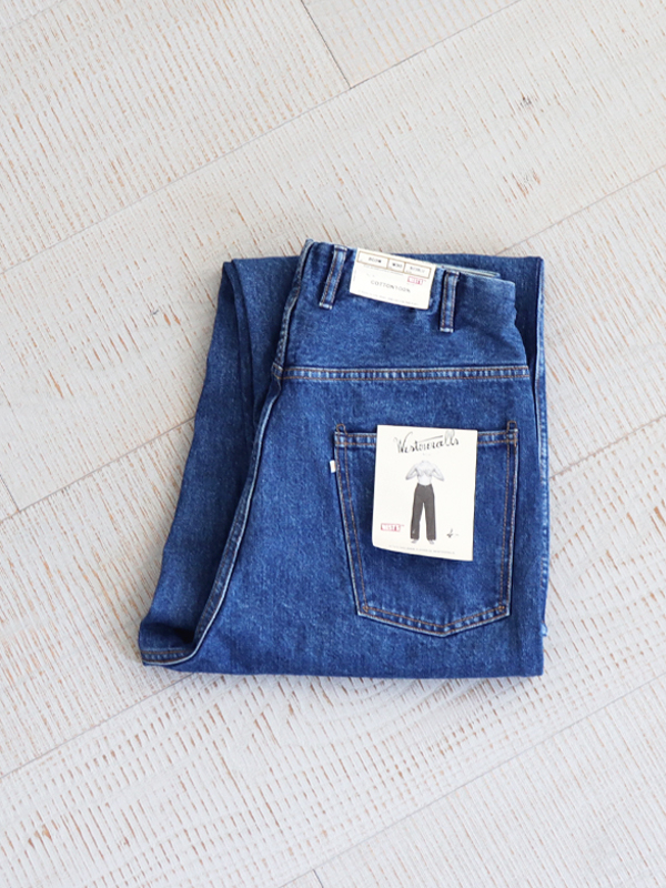 WESTOVERALLS 5POCKET DENIM TROUSERS. 803W-BIOBLUE