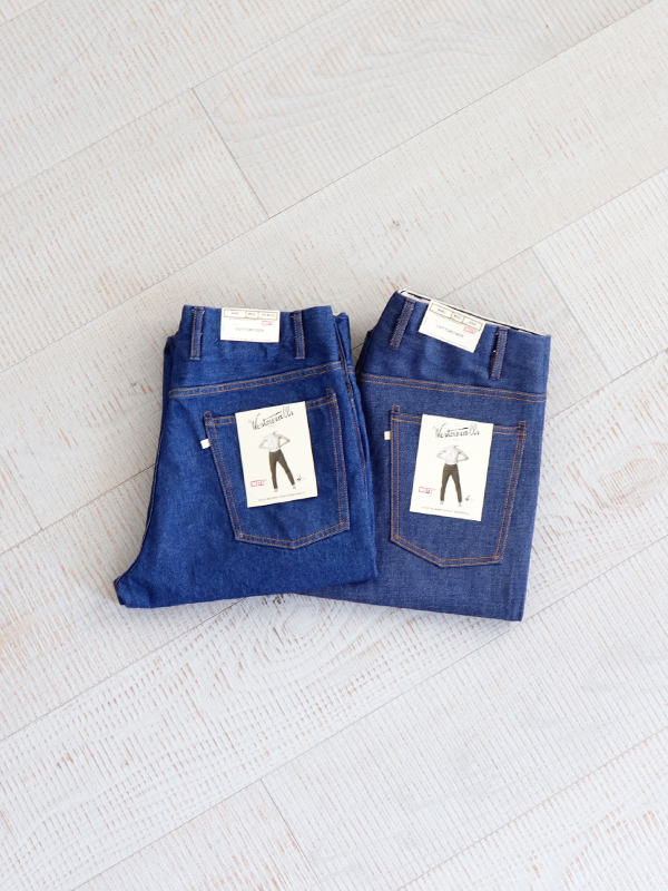 WESTOVERALLS 5POCKET DENIM TROUSERS. 806T