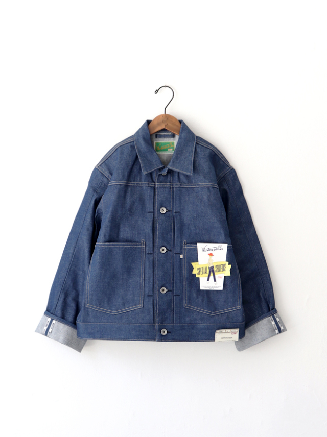 WESTOVERALLS 109J DENIM TRACKER JACKET