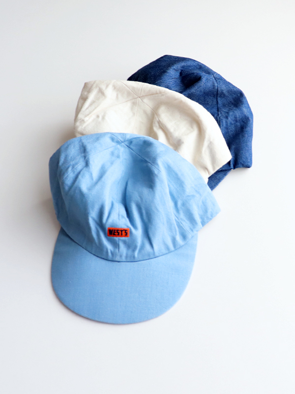 WESTOVERALLS WEST'S CAP -DENIM