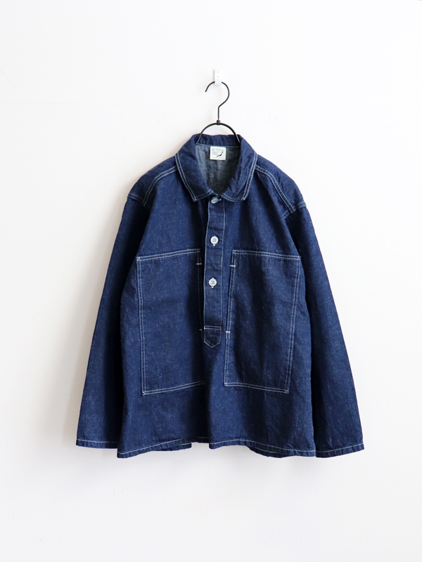 orSlow U.S. Army Pullover Denim Jacket -ONE WASH