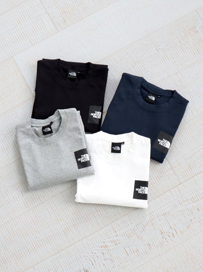 THE NORTH FACE S/S Pictured Square Logo Tee