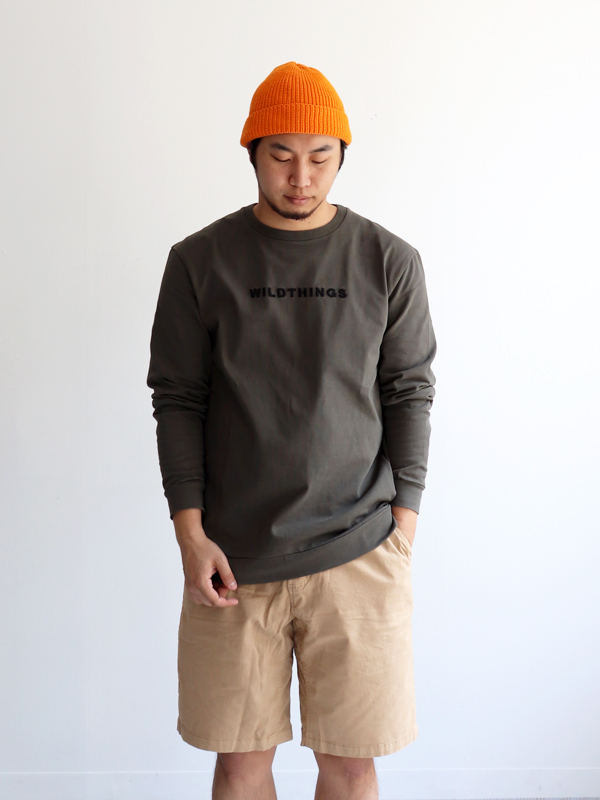 WILD THINGS L/S EMBROIDERY LOGO