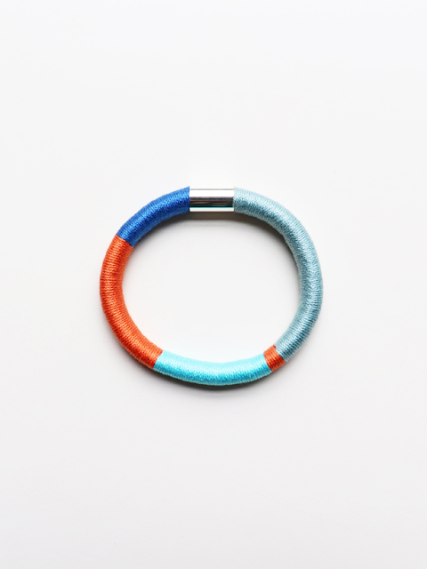 ELEANORBOLTON(エレノアボルトン) Wrapped Bangle - HOCKNEY