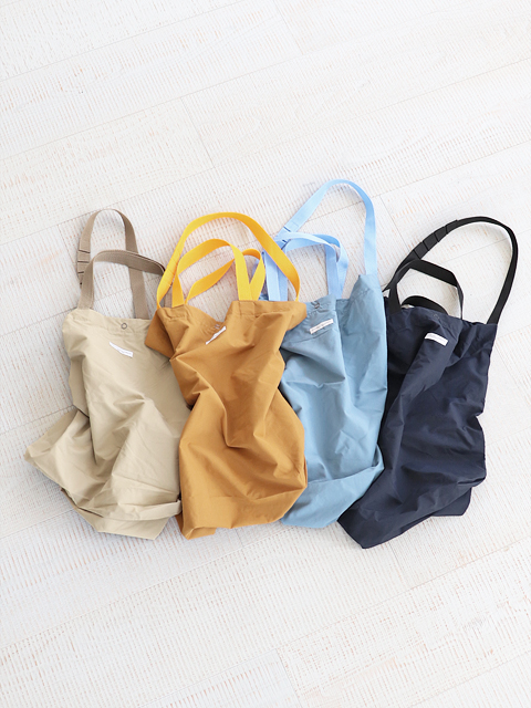ENGINEERED GARMENTS(エンジニアードガーメンツ) Carry all tote -Acrylic coated nylon taffeta