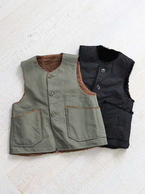ENGINEERED GARMENTS(エンジニアードガーメンツ) Over Vest -double cloth