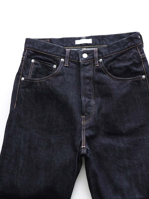 HATSKI(ハツキ) Straight Denim -One Wash
