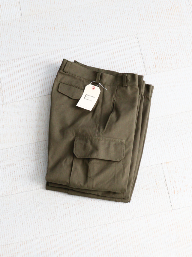 Ordinary fits SURPLUS(オーディナリーフィッツ) M-47 TYPE CARGO PANTS