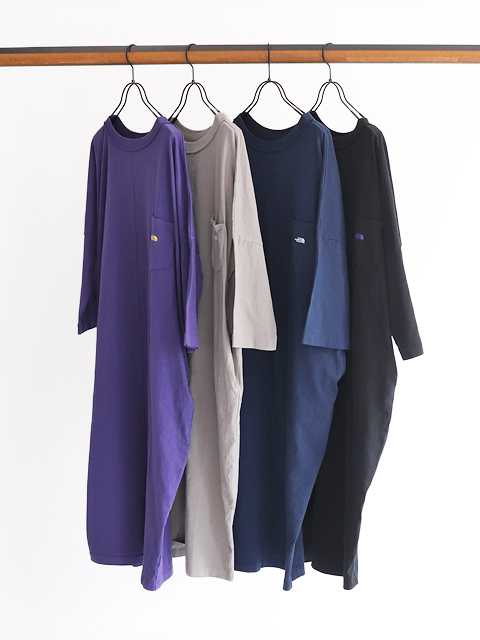 THE NORTH FACE PURPLE LABEL(ザ ノース フェイス パープルレーベル) 5.5oz Crew Neck Dress
