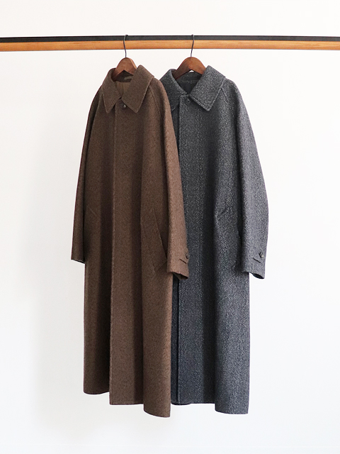 PhlannelL(フランネル) Arles Wool Balmacaan Coat