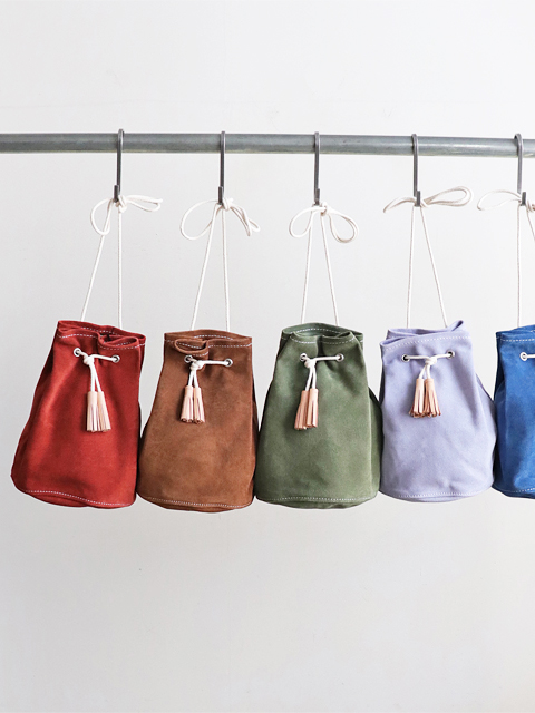 TEMBEA(テンベア) GAME POUCH -SUEDE