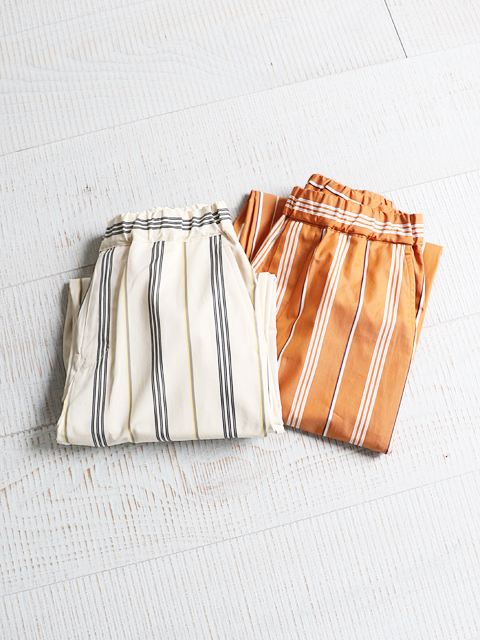 WELLDER(ウェルダー) Drawstring Easy Trousers