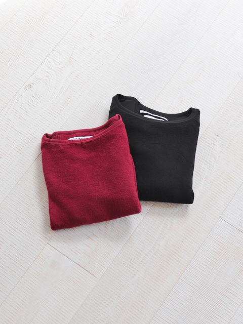 White Mountaineering (ホワイトマウンテニアリング) BOAT NACK LONG SLEEVES TOP