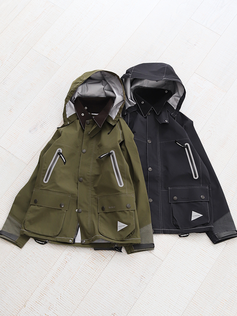 and wander(アンドワンダー) Barbour CORDURA E Vent Jacket