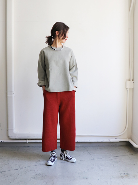 AURALEE(オーラリー) SUPER HARD TWIST RIB KNIT PANTS