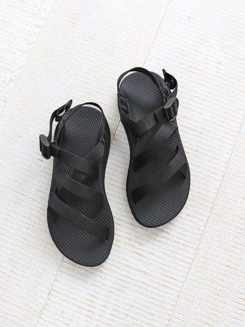 Chaco (チャコ) Ws BANDED Z CLOUD -Solid Black