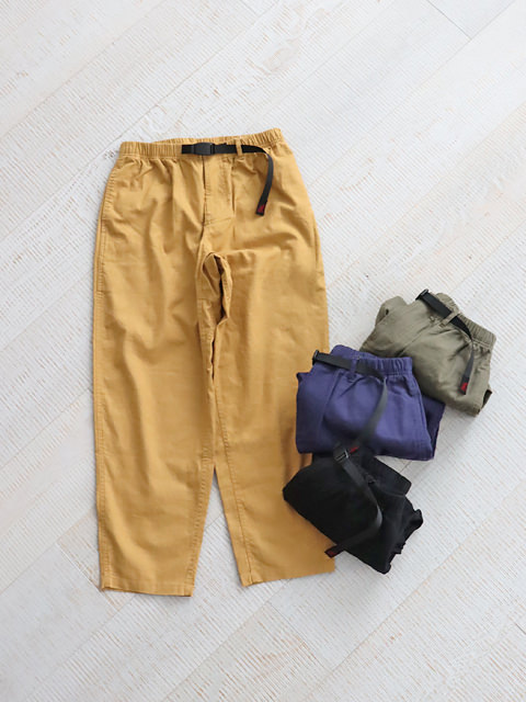 GRAMICCI (グラミチ) LINEN WIDE TAPERED PANTS -Men's size
