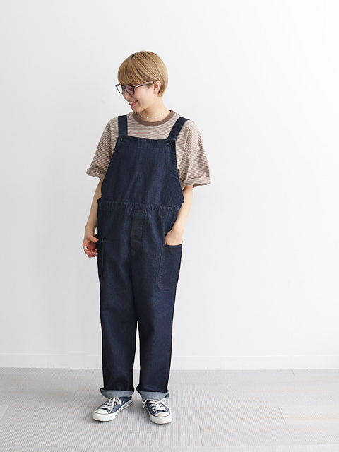 HATSKI(ハツキ) Washi Denim Overall